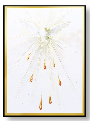 HOLY SPIRIT MAGNETIC PLAQUE 231-651