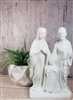 8 inch Holy Family White 2377W-R