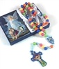 Kiddie Rosary with Holy Card Set