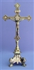 Standing Crucifix Shiny Brass 13.25inches 306-L