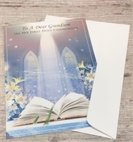 To A Dear Grandson On His First Holy Communion 36157