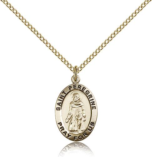 Filled st peregrine pendant gf lite curb chain 34 x 12 gold filled st peregrine pendant gf lite curb chain 34 x 12 mozeypictures Image collections