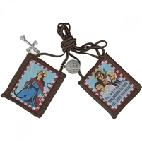 P: SAINT PHILOMENA Brown SCAPULAR