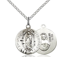 Our Lady of Guadalupe Small Round Medal