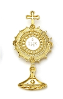 Monstrance Lapel Pin with White Center RA45023