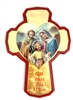 Holy Family-- GOD Bless this House - Wall Mounting Cross