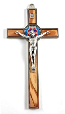 "7.5"" Saint Benedict Wall Cross"