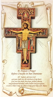 San Damiano Wall Crucifix RA46-2010/SD
