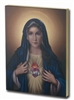 IMMACULATE HEART OF MARY LARGE GOLD EMBOSSED