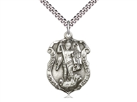 St. Michael the Archangel Medal 5448/24S