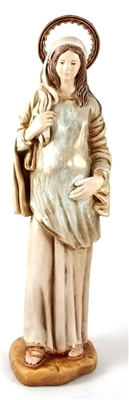"10.5"" Our Lady of Hope (pregnant Madonna) statue"