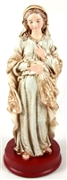 "8"" Our Lady of Hope (pregnant Madonna) statue"