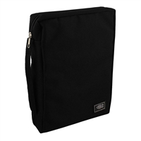 Black Large Bible Cover BBL474