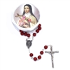 Saint Therese Rose Petal Rosary