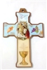 First Holy Communion Plaque Cross for Girl CX50FCG1