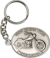 Bless Motorcycle Keychain 5879SRCS