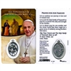 Prayer For Our Families Holy Card with Medal HC-1001