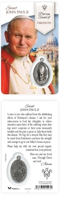 HEALING SAINTS: SAINT JOHN PAUL II HOLY CARD