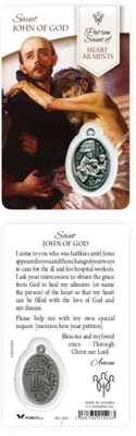 Healing Saints:  Saint John of God Holy Card