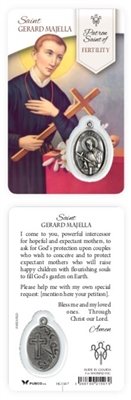 Healing Saints:  Saint Gerard Majella Holy Card
