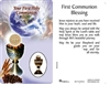 First Communion Blessing Holy Card 10-712/591C