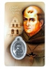 Saint Junipero Serra Holy Card with Medal HC1021