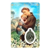 Saint Anthony Holy Card with Medal C113