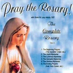 Pray the Rosary! CD HM933