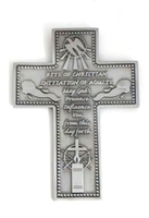 RCIA Pewter Wall Cross SH322