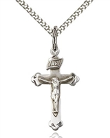 Sterling Silver Crucifix Pendant 0669SS/18S