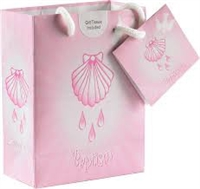 Baptism Girl Gift Bag with Tissue Paper 164-20-2004