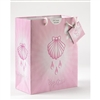 Large Pink Baptism Gift Bag With Tissue Paper 165-20-2004