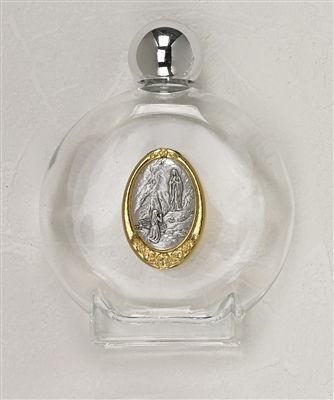 Large Our Lady of Lourdes Holy Water Bottle 166-60-2250