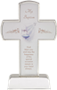 Premium Silver Tone Standing My Baptism Cross 109-20-1016