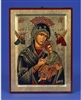 Our Lady of Perpetual Help (Virgin of the Passion)  Gold Leaf Icon 136-60-0206