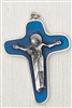 Blue Enamel SORROWFUL MOTHER PASSION CRUCIFIX 171-11-9424