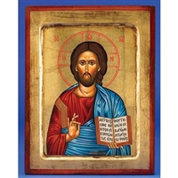 Christ the Teacher Gold Leaf Icon 136-60-0166