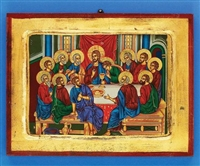 Last Supper Gold Leaf Icon 136-60-1960