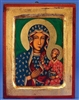Our Lady of Czestochowa Gold Leaf Icon 136-60-0155