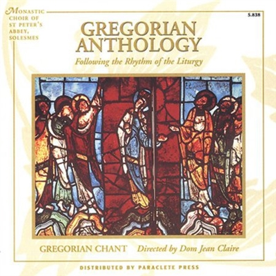 Gregorian Anthology Following the Rhythm of the Liturgy CD