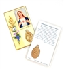The Immaculate Heart of Mary Laminated Holy Card