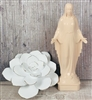 6 inch Our Lady Of Grace Tan Statue