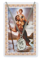 ST CHRISTOPHER PRAYER CARD SET  PSD336CH