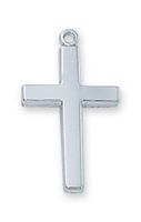 Sterling Silver Cross L6099