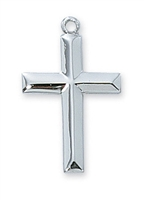 Sterling Silver Cross L7022