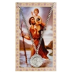 (PSD600) ST. CHRISTOPHER PRAYER CARD SET