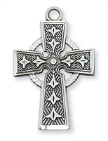 Sterling Silver Celtic Cross L8083