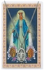 Oval Our Lady of the Miraculous Medal with Prayer Card