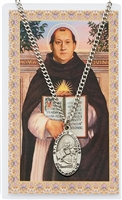 St. Thomas Aquinas Medal and Prayer Card Set PSD550TQ