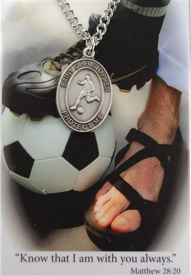 BOYS SOCCER PRAYER CARD SET PSD675SR